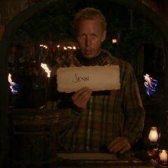 Tyler votes against Jenn.