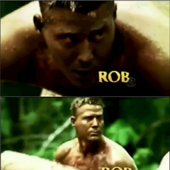 Rob's opening shots in <i>Heroes vs. Villains</i>.