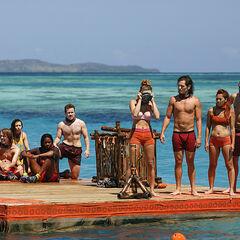 Vanua at the second Immunity Challenge, <i><a href=