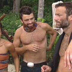 The tribe is stunned when Johnny Fairplay revealed that Drake purposely lost the first challenge Morgan won