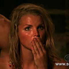 Andrea's reaction to Matt's blindside.