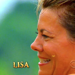 Lisa's second action shot in the opening.