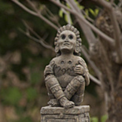 <i>Survivor: San Juan del Sur</i> Immunity Idol, Xochipilli, the Aztec god of arts and games.