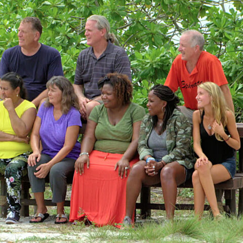 Val with the other loved ones, which also includes former <i>San Juan del Sur</i> castmate <a href=