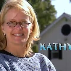 Kathy is introduced.