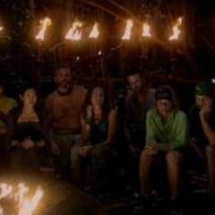 New Mogo Mogo at their first Tribal Council.