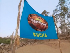 Kucha flag 1