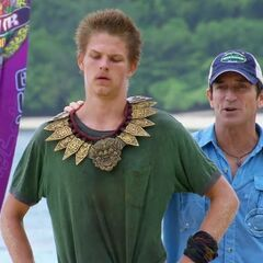 Spencer wins his 2nd individual immunity.