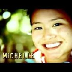 Michelle's photo in the opening.