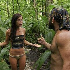 Russell argues with Parvati.