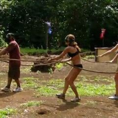 Russell wins the final individual immunity.