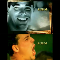 Rob's opening shots in <i>All-Stars</i>.