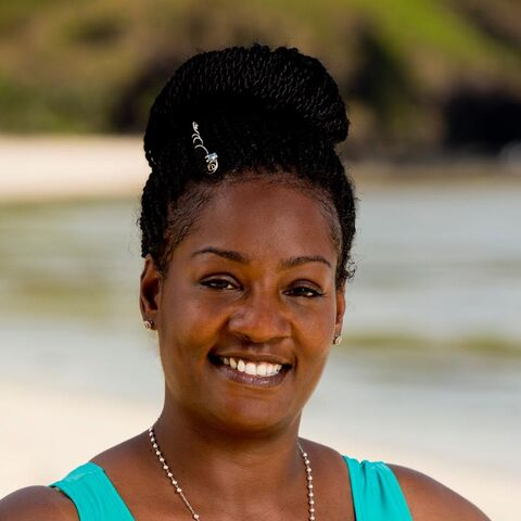 Cirie's alternate promotional photo for <i>Survivor: Game Changers</i>.