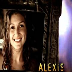 Alexis' photo in the opening.