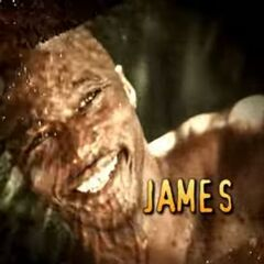 James' photo in the opening.