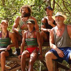 The new Mogo Mogo Tribe competes for immunity