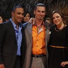 The Final Three at the reunion.