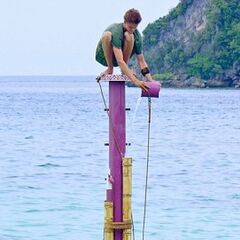 Spencer at his last Immunity Challenge.