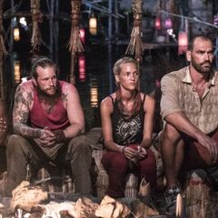 Jason at To Tang's last Tribal Council.