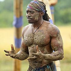 Russell loses his fourth consecutive Immunity Challenge.