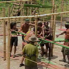 The tribes tangled at the Immunity Challenge
