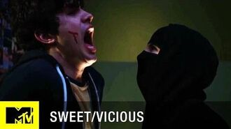 Sweet Vicious (Season 1) Badass Moments Jules Takes Down Will (Episode 1) MTV