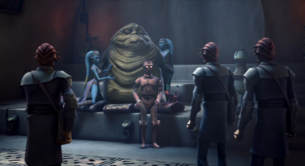 Arok Desilijic Tiure's criminal empire   Star Wars Fanon ... Jabba The Hutt And Leia Fanfiction