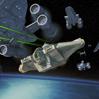 The new ship <i>Ghost</i> debuted at the <i>Rebels</i> panel.