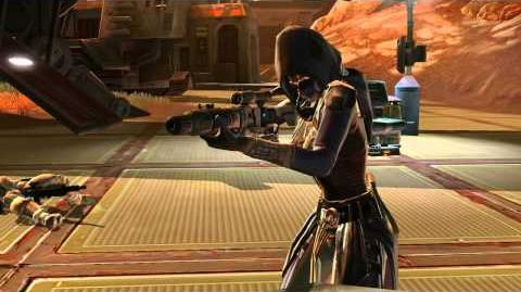 STAR WARS™ The Old Republic™ - Character Progression -- Imperial Agent
