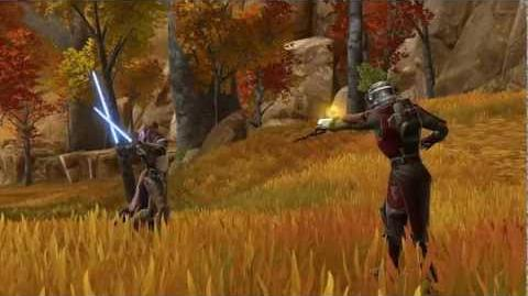 STAR WARS™ The Old Republic™ - Choose Your Side Jedi Knight vs