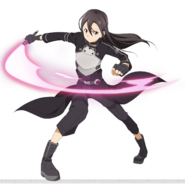 Kirito's GGO design for Code Register