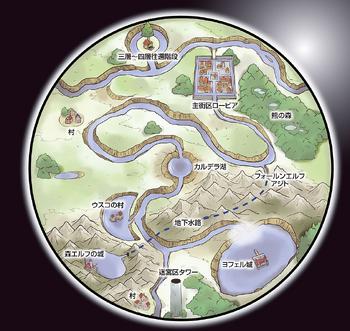 4th floor aincrad sword art online wiki fandom for Floor 4 mini boss map