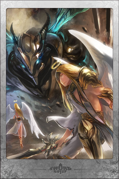 Six Winged Angelblade Manga