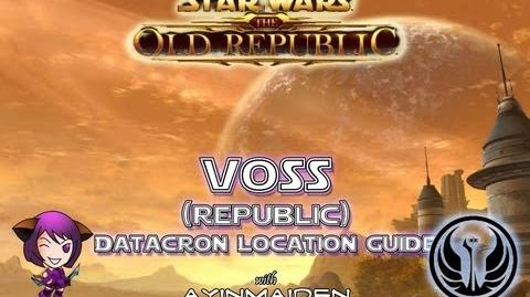 ★ SWTOR ★ - Datacron Location Guide - Voss (Republic)