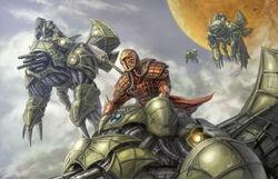 Mandalore the Indomitable rides into battle