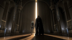 Malgus entering the Jedi Temple