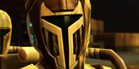 Unidentified Mandalorian Lieutenant