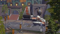 Fortitude-class assault shuttle (Jedi Temple)