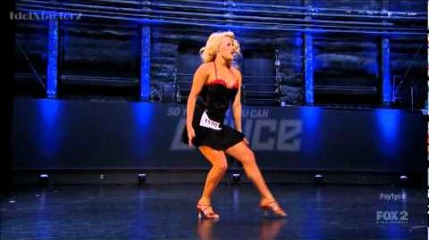 Witney Carson - SYTYCD Season 9 (Salt Lake City Auditions)