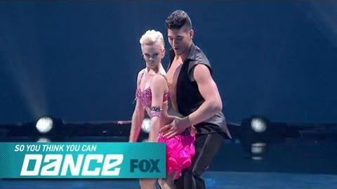 Malece & Alan Top 14 Perform SO YOU THINK YOU CAN DANCE FOX BROADCASTING