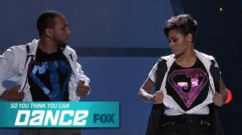 Jasmine H & tWitch Top 8 Perform SO YOU THINK YOU CAN DANCE FOX BROADCASTING