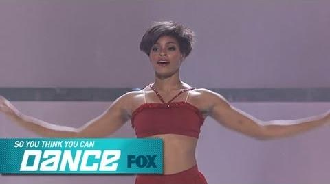 Jasmine H Top 4 Perform SO YOU THINK YOU CAN DANCE FOX BROADCASTING