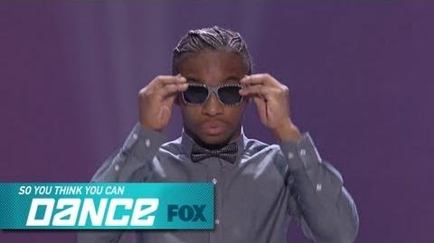 Fik-Shun Top 4 Perform SO YOU THINK YOU CAN DANCE FOX BROADCASTING