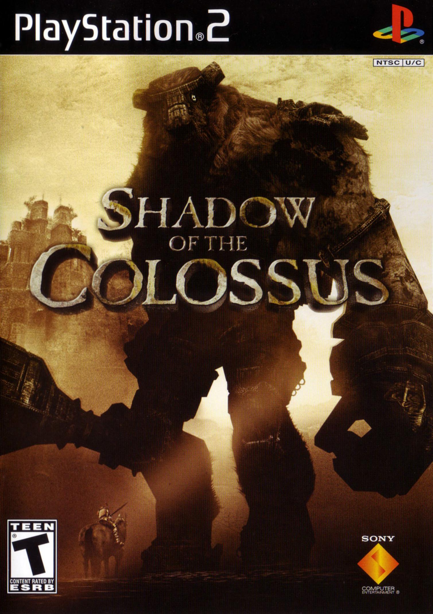 Resultado de imagem para shadow of the colossus american cover