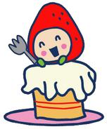 Ichigotchi cake