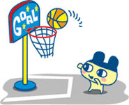 Mametchi basketball