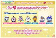 Tamagotchi mix station winter characters