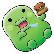 Anime kuchipa burger