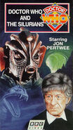 Doctor Who and the Silurians VHS US cover