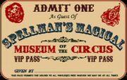 Museum Circus Ticket